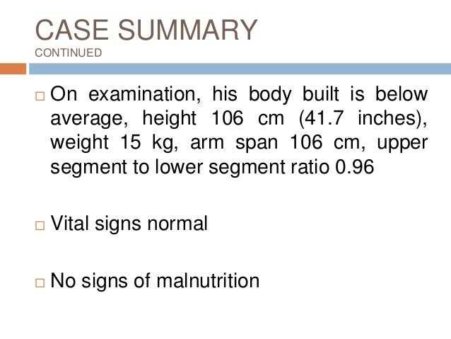 A 14-year-old boy with short stature