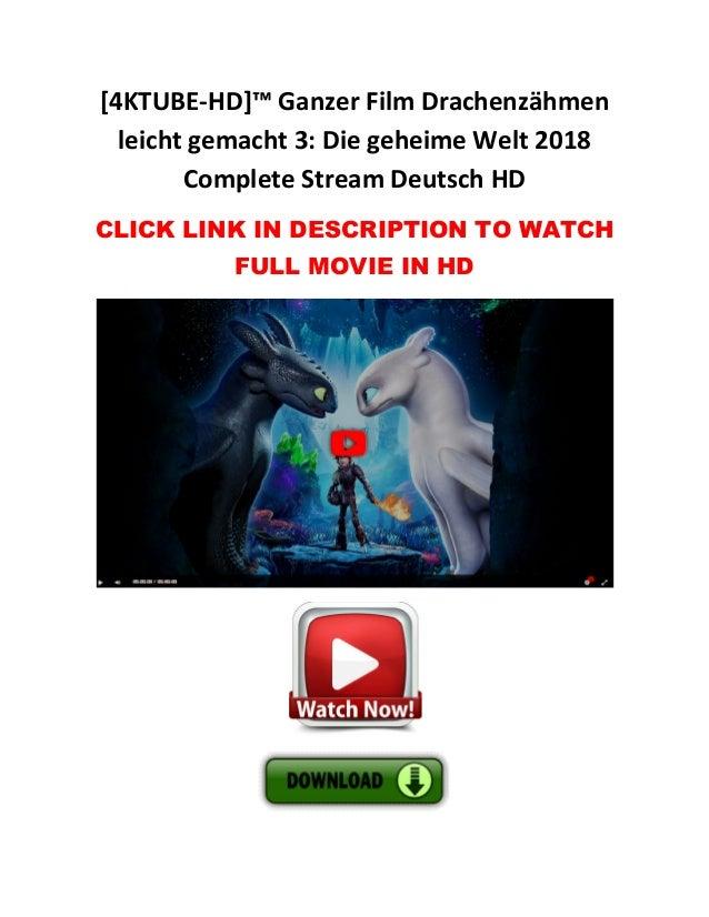 Ganzer Film Drachenzähmen Leicht Gemacht 3 Die Geheime Welt 2018