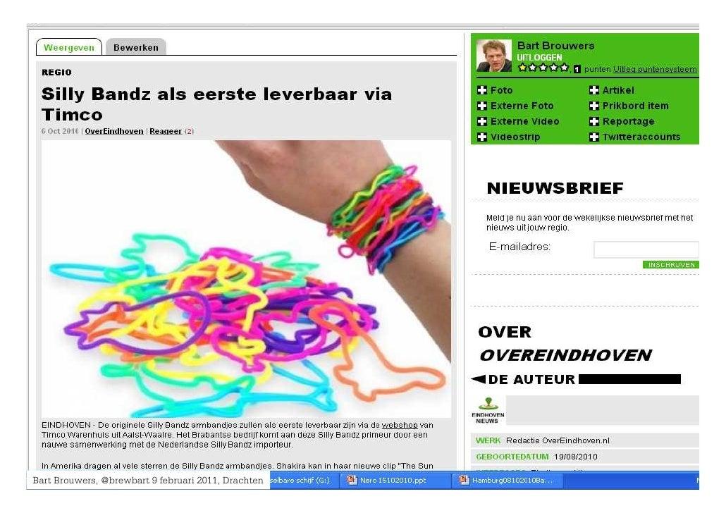 Bart Brouwers, @brewbart 9 februari 2011, Drachten Expo     Brouwers, 21 september 2010, Telegraaf Media