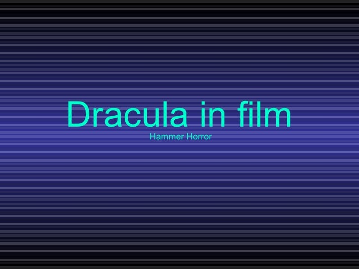Dracula in film Hammer Horror