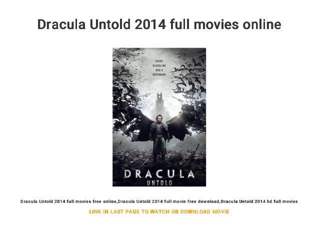 Dracula Untold 2014 Full Movies Online