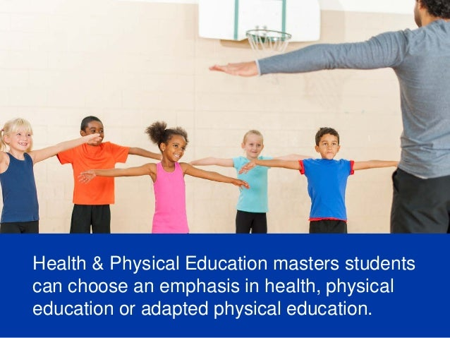teaching health and physical education in The dual major in health education and physical education enables students to  become certified to teach in two areas on graduation, students are eligible for.