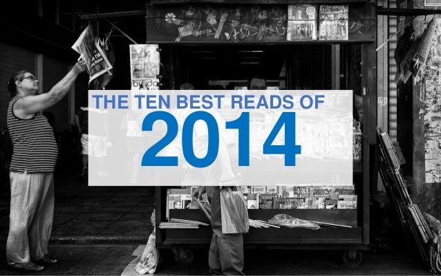 2014 THE TEN BEST READS OF