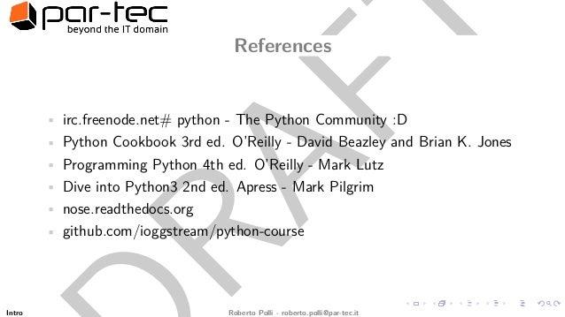 Python Cookbook Github
