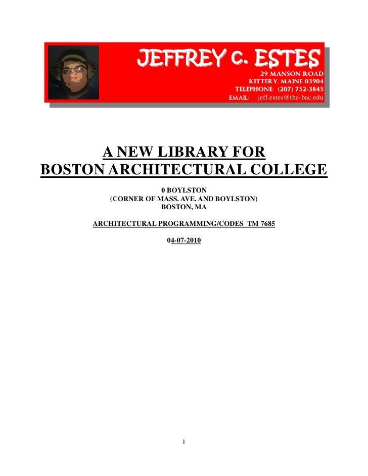 JEFFREY c. ESTES                                              29 MANSON ROAD                                           KIT...