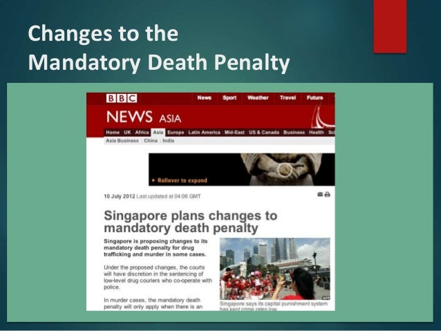 should the death penalty be mandatory for homicide Narrator: it turns out that states with the death penalty have had higher murder rates and studies have shown that if capital punishment has any deterrent affect at all, it may be too small to be.