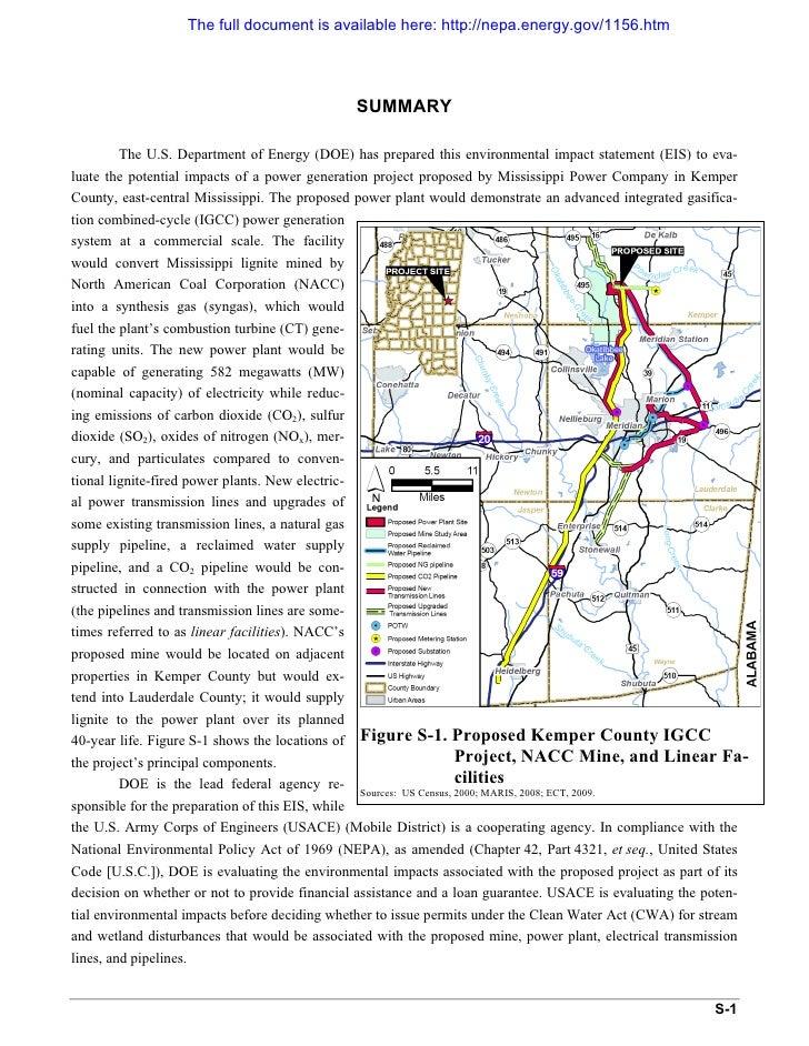 The full document is available here: http://nepa.energy.gov/1156.htm                                                      ...