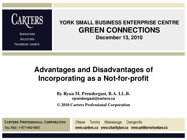 York Small Business Enterprise Centre Green Connectionsdecember  Advantages And