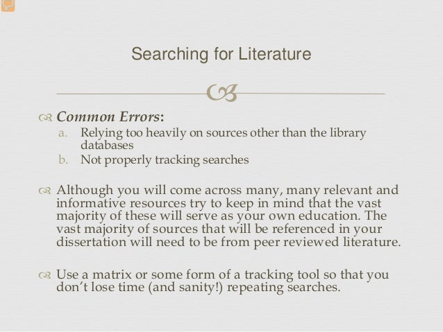 common methodology mistakes in dissertations The most common dissertation writing mistakes include not adequately researching information on the topic not providing up-to-date research not addressing all of the opposing arguments not focusing the research topic on one subject and not providing drafts for the committee to review before the defense.