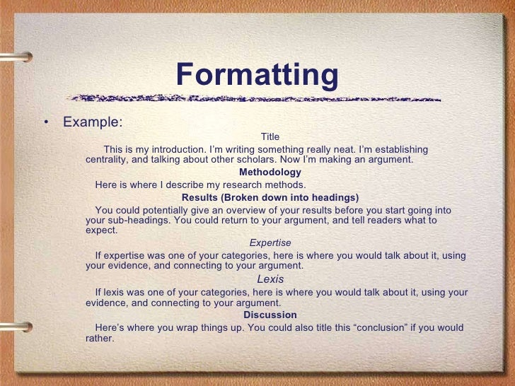 Drafting your Discourse Community Ethnography, part 2