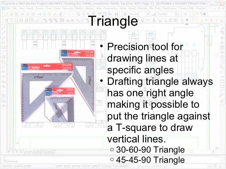 Drafting Equipment Andprocedures - Drafting equipment