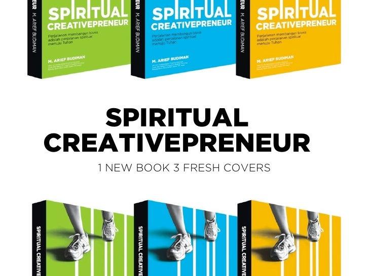 SPIRITUALCREATIVEPRENEUR   1 NEW BOOK 3 FRESH COVERS