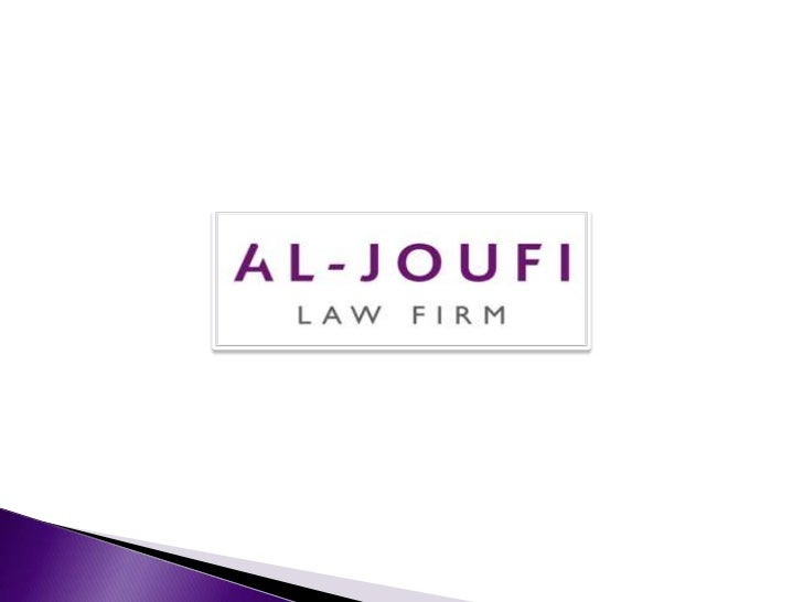 About Al-Joufi Law Firm.Al-Joufi is a leading Saudi law firm based in Riyadh offering a broad range ofSaudi law advice to ...