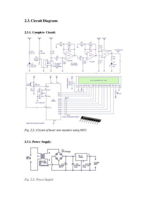 micro controller based heart rate monitoring system 12 638 great kib monitor panel wiring diagram gallery electrical and