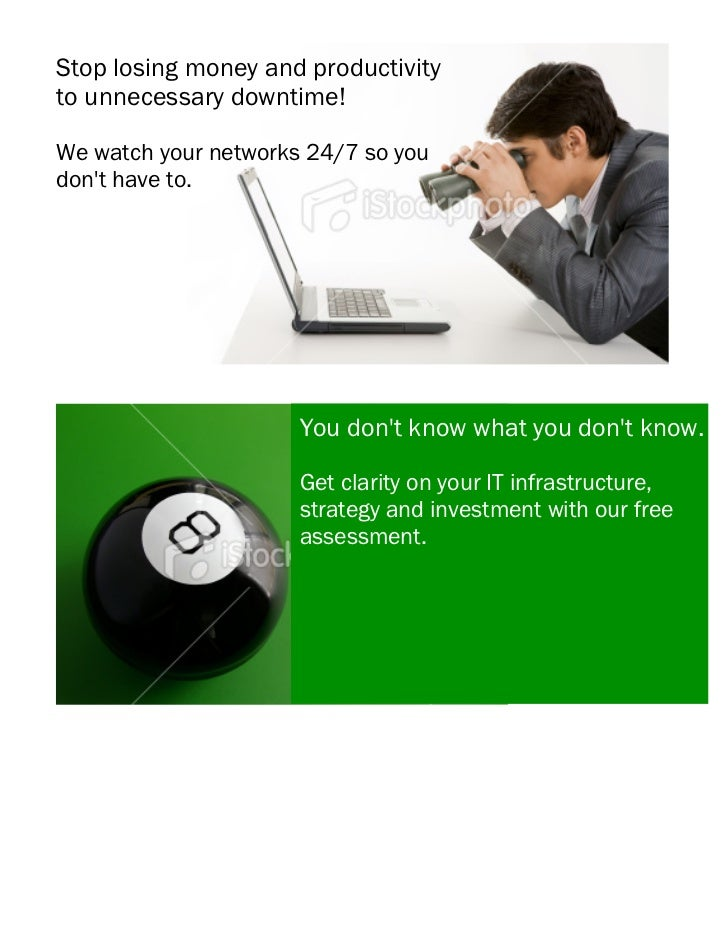 Stop losing money and productivityto unnecessary downtime!                                                               ...