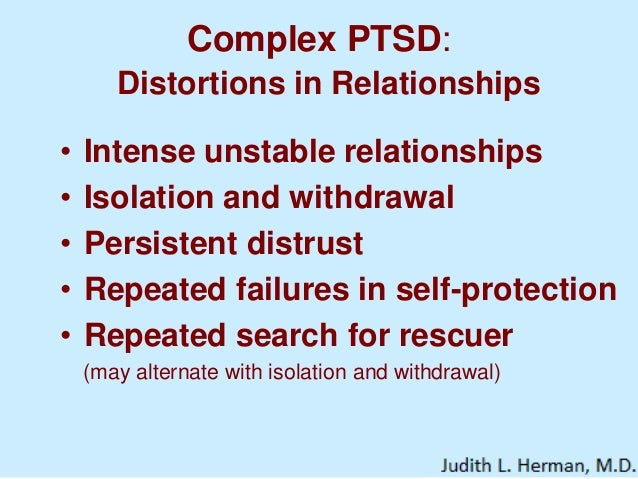 Dating with ptsd
