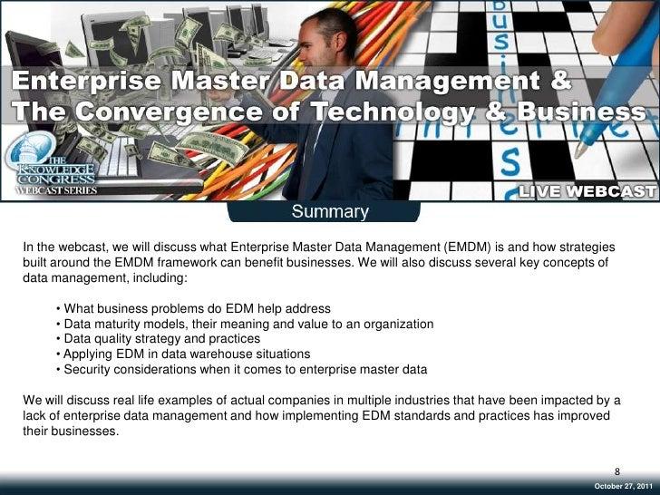 Draft Webinar Template Enterprise Master Data Mgt Oct24 2011(V5)