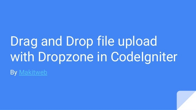 Dropzone Js File Type Dropzonejs uploading only 1 file