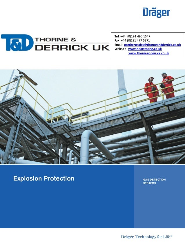 Explosion Protection ST-6057-2004 GAS DETECTION SYSTEMS Tel: +44 (0)191 490 1547 Fax: +44 (0)191 477 5371 Email: northerns...