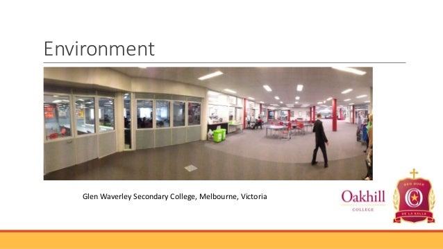Environment  Glen Waverley Secondary College, Melbourne, Victoria
