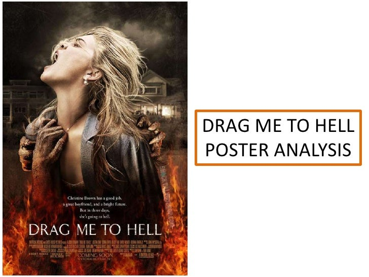 DRAG ME TO HELLPOSTER ANALYSIS