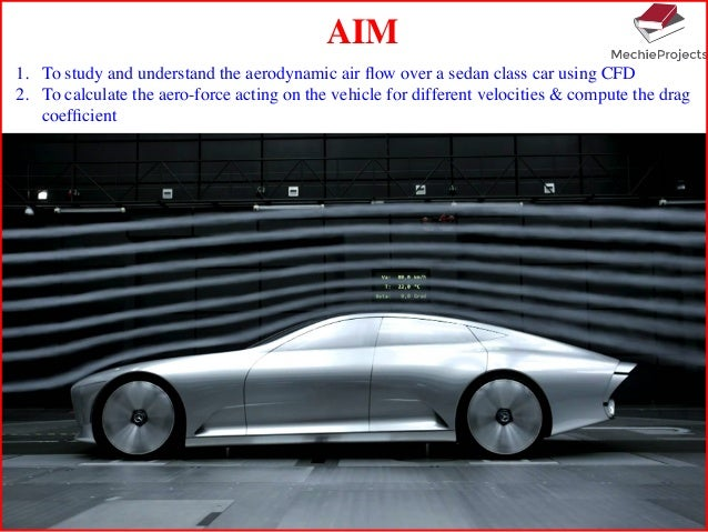 How To Show Aerodynamic Coefficient For Cars