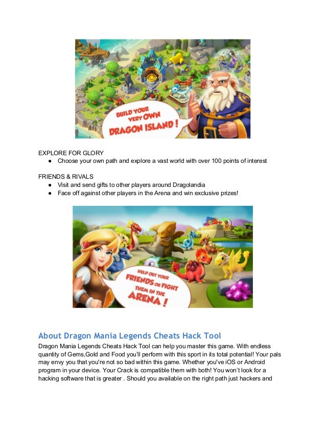 Dragon Mania Legends Cheats Hack Tool