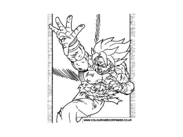 Dragonball Z Colouring Pages And Kids Colouring Activities