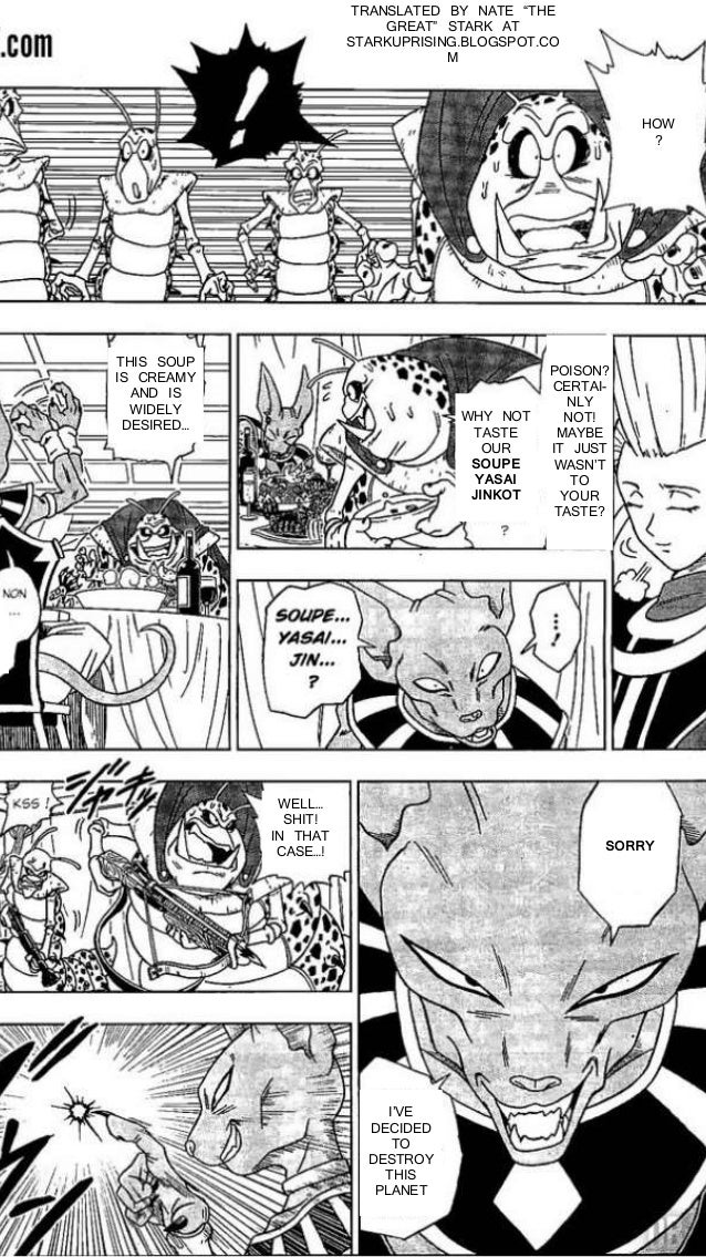 Dragon ball super manga chapter 1