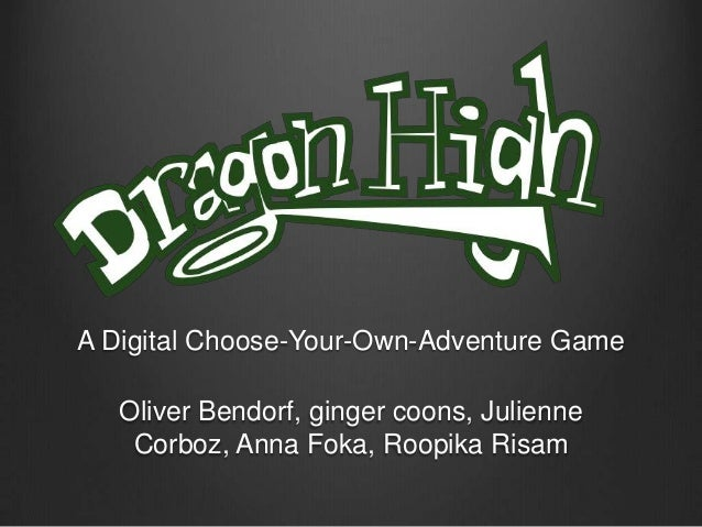 A Digital Choose-Your-Own-Adventure Game Oliver Bendorf, ginger coons, Julienne Corboz, Anna Foka, Roopika Risam