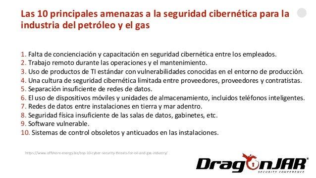 Automatizando una GasolineraLas 10 principales amenazas a la seguridad cibernética para la industria del petróleo y el gas...