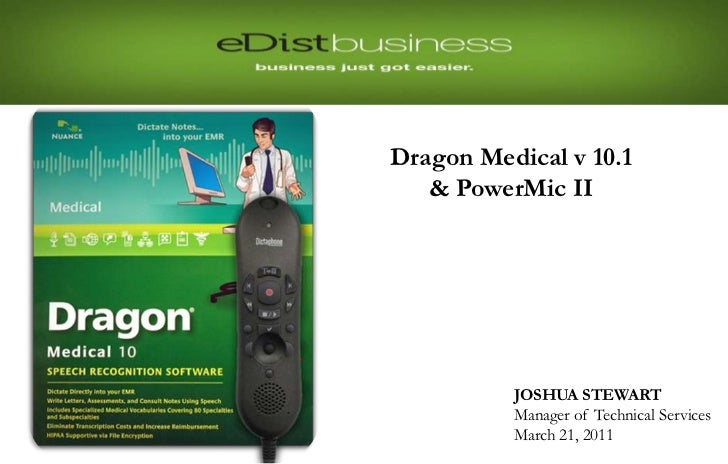 Re-pairing the Headset                         Dragon Medical v 10.1                            & PowerMic II             ...