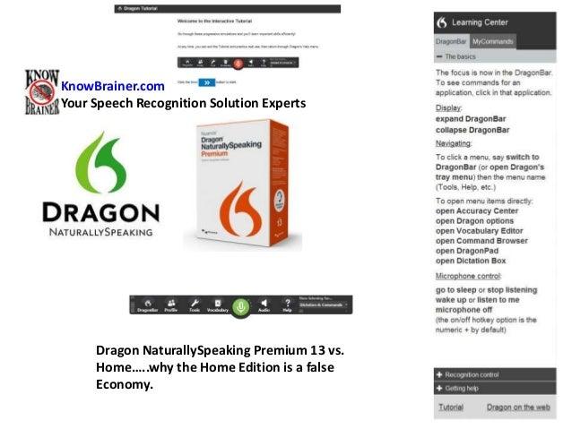 Dragon naturallyspeaking 13 home edition