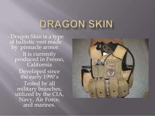 Dragon Skin Bullet Proof Clothing