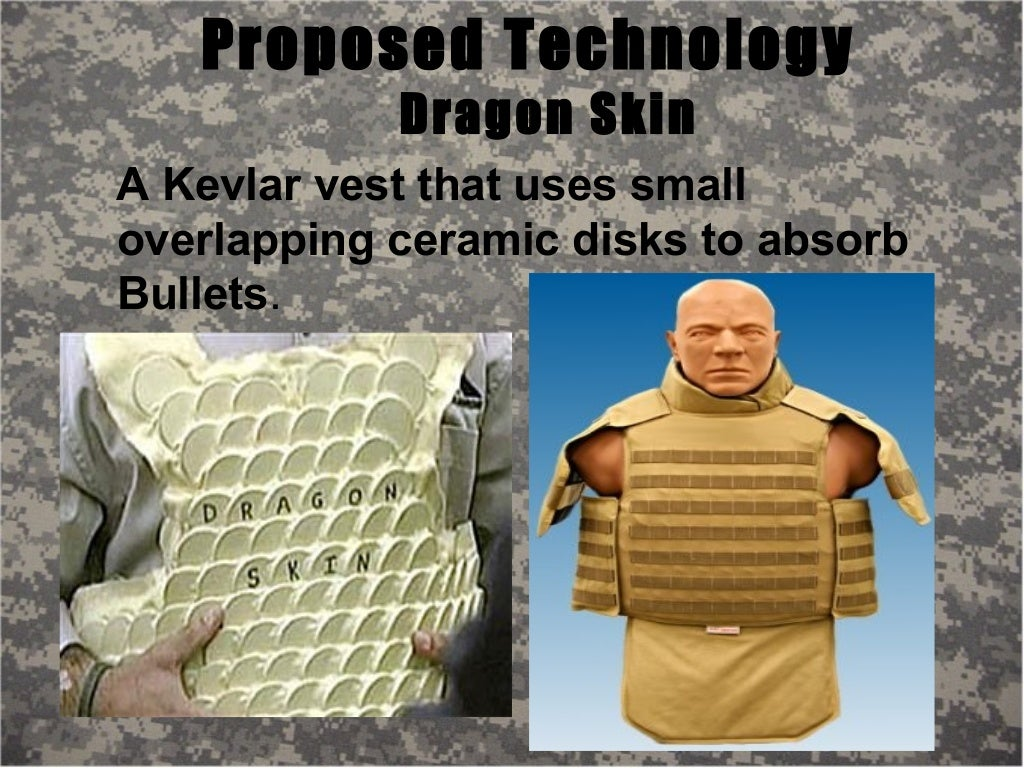 Dragon Skin Body Armor Of Future Troops, but a man in boston got his hands on one vest, thanks to the. dragon skin body armor of future
