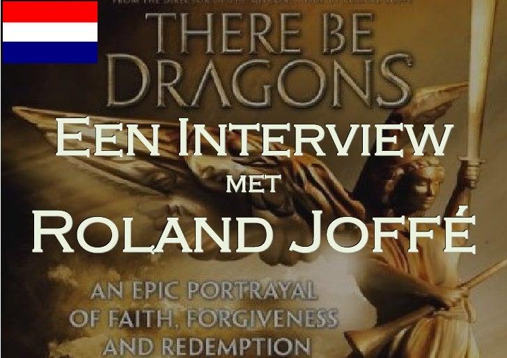 Een Interview        metR ol a n d Jo f f é