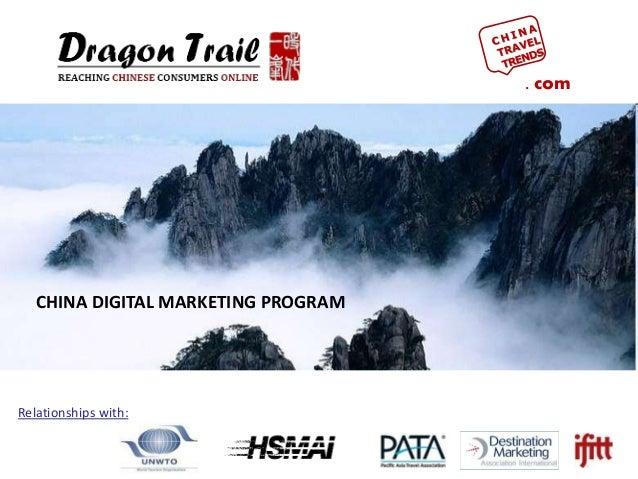. com Relationships with: CHINA DIGITAL MARKETING PROGRAM
