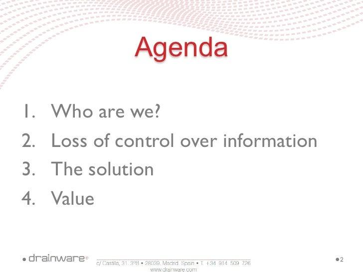 Drainware Corporate Slide 2