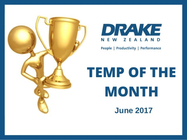temp of the month june 2017