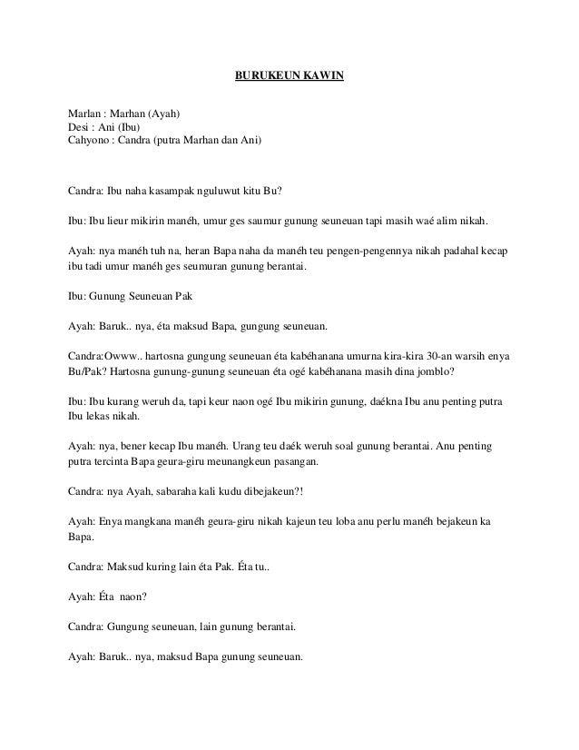 Contoh Drama Humor 4 Orang - Karintoh