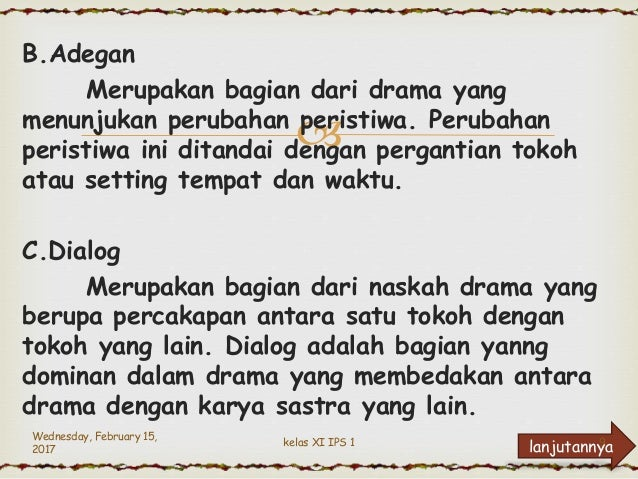 Drama B Indonesia