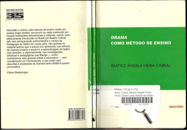 Drama como método de ensino texto