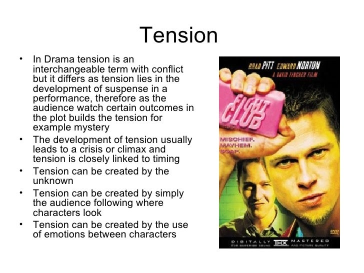 Drama convention powerpoint