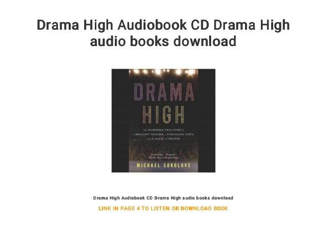 Drama High Audiobook CD Drama High audio books download