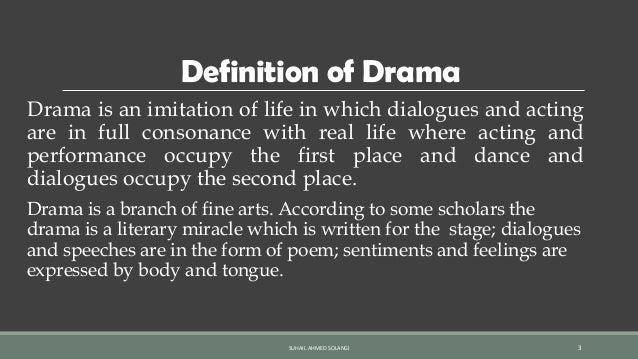 Drama its origin: growth & development by Suhail Ahmed Solangi Slide 3