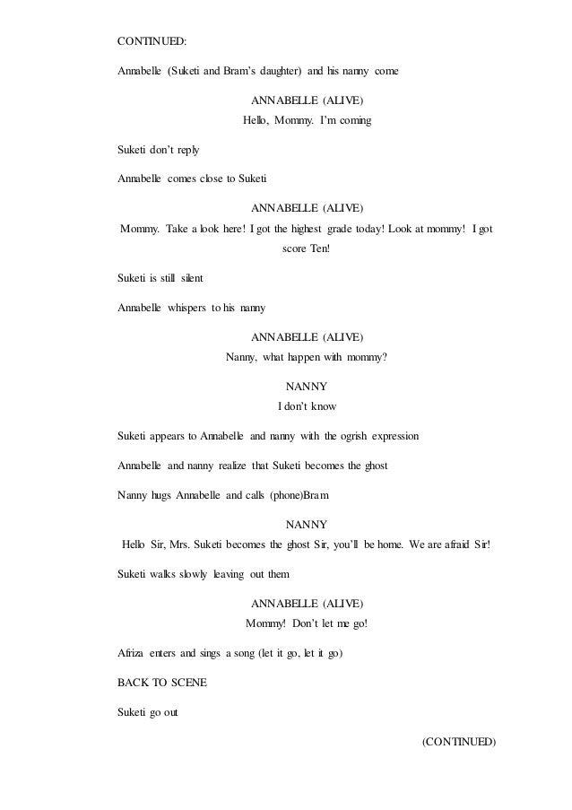 Drama Horror Comedy Script
