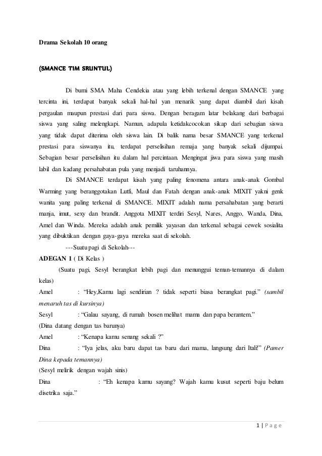 Drama Sekolah 10 Orang Complit