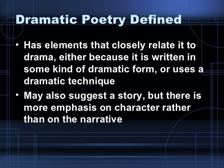 """dramatic poesy essay Tarvin 2 ii an essay on dramatic poesy 1 using kaplan and anderson's headnote on p 136, briefly summarize their comments on the dramatic setting of the essay, what they call """"a dramatization of a."""