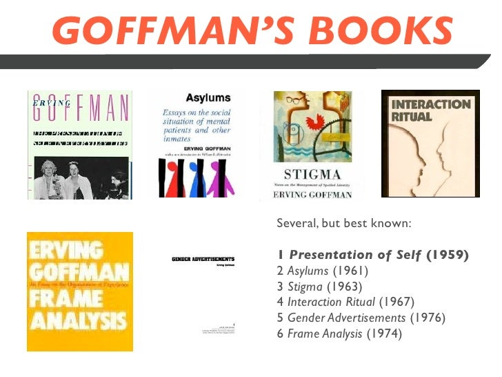 erving goffman - gender advertisements essay