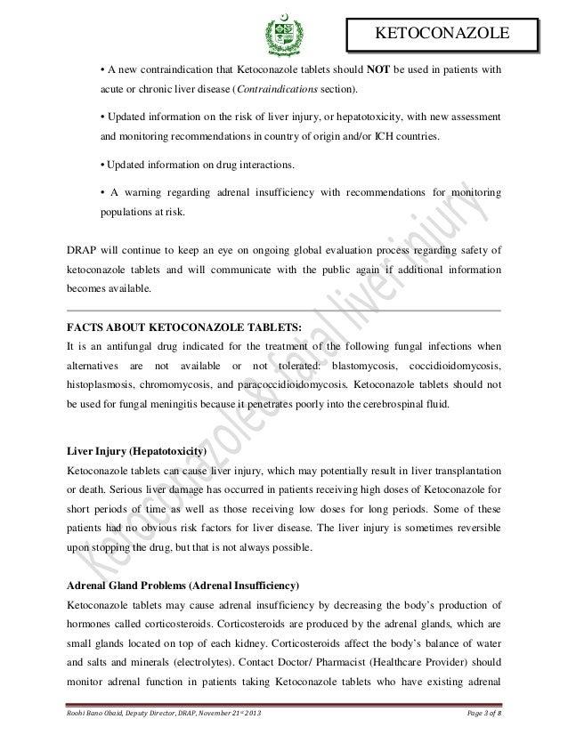Drug safety alert 5 ketoconazole for Roohi bano latest pics